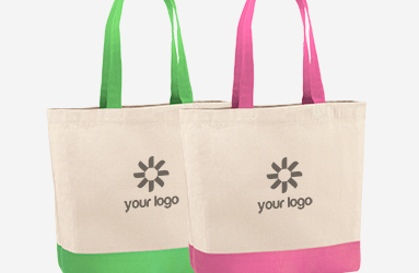 Promotional bags for shopping or events