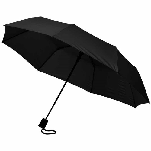 21 3-section auto open umbrella. regalos promocionales
