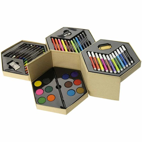52 piece colouring set. regalos promocionales