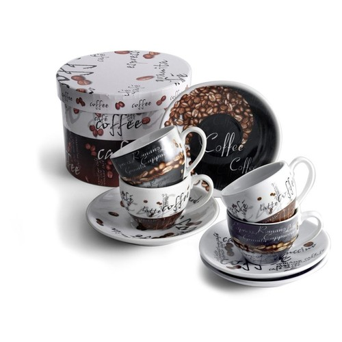 Cappuccino cups and saucers. regalos promocionales