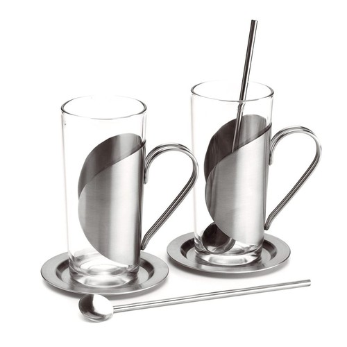 Chester Stainless steel tea set. regalos promocionales