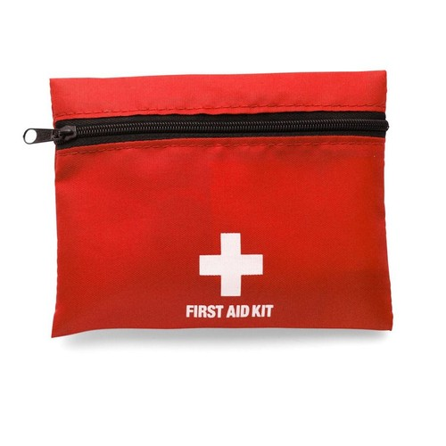 First aid kit in a nylon pouch. regalos promocionales