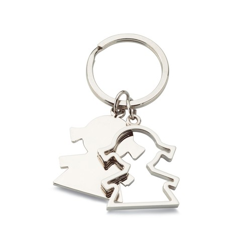 Girl shaped keyring . regalos promocionales