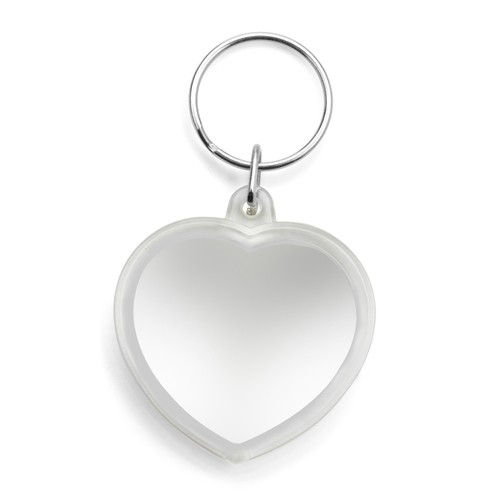 Plastic heart key holder. regalos promocionales