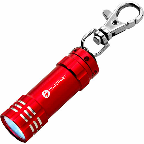 Pocket torch with key-ring boles. regalos promocionales
