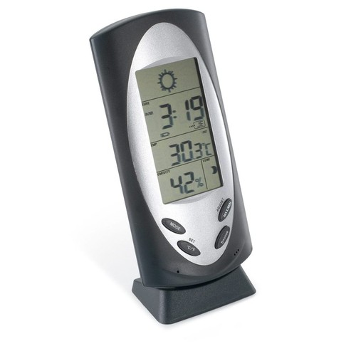 Sol Weather station clock. regalos promocionales