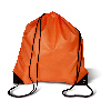 Orange 190T Polyester-Rucksack Shoop