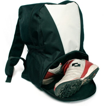 Backpack With Shoes Bag