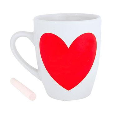 Taza Heart Pizarra