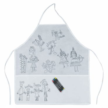 Family Paint Apron