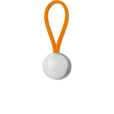 Rubber Round Keychain