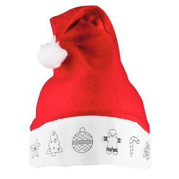 Bonnet pour Dessiner Santa