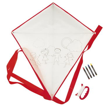 Blow Paint Kite