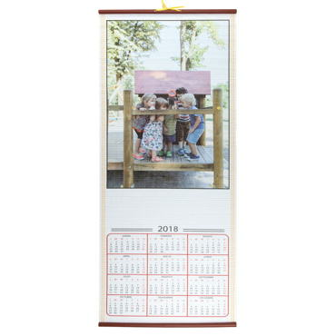 Child Parchment Calendar