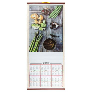 Calendrier Parchemin Nature Morte
