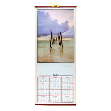 Calendrier Parchemin Mer