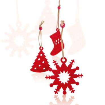 Set Sensi de adornos navideños