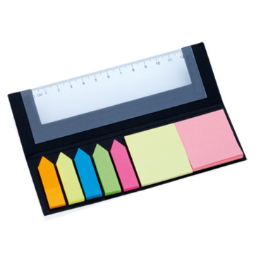 Ruler Sticky Notepad Holder