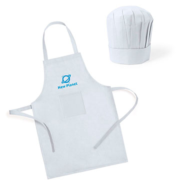 Children's apron set and chef's hat Legox