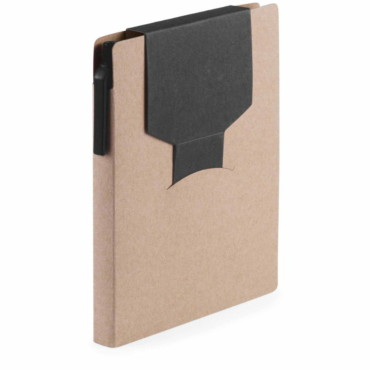 Cravis Sticky Notepad. Cardboard. 70 Sheets Notepad. 25 Sticky Notes 9 x 7,6 cm. 25 Sticky Notes 3,8 x 6 cm. 100 Mini Sticky Notes 4,8 x 1,2 cm. Recyc