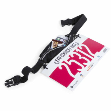 Rapik Race Number Holder Waistbag. Polyester/ Spandex.