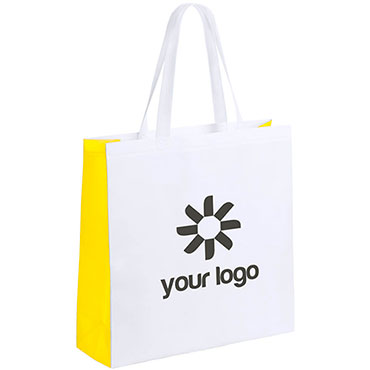 Decal Bag. Laminated Non-Woven.