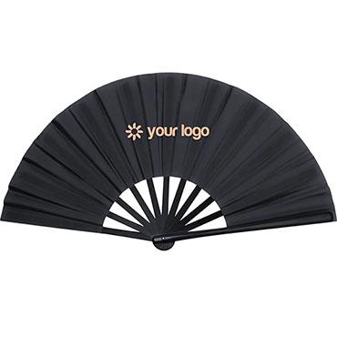 Tetex Hand Fan. Plastic Ribs.