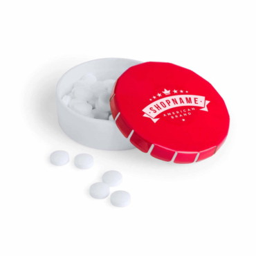 Latix Candy Dispenser About 70 Sugar-Free Mints (9 gr.)