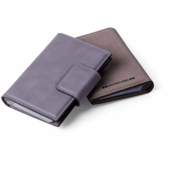 Kunlap Card Holder. Leather. 20 Compartments