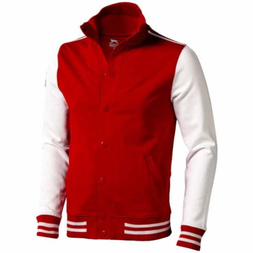 Varsity sweat jacket