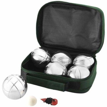 6 ball jeu-de-boules set
