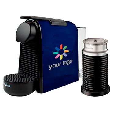 Nespresso Essenza Kaffeemaschine mit Milchaufschäumer