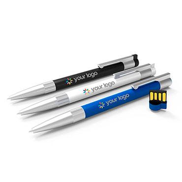 Kugelschreiber mit USB Stick