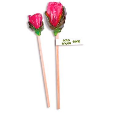 Rosas de caramelo cristal