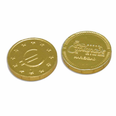 Monedas de chocolate 28mm