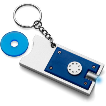 Plastic key holder with a white LED l...
