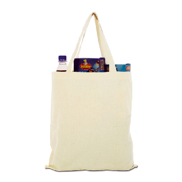 Shopper in cotone naturale