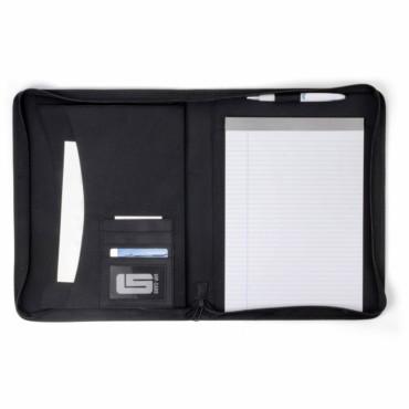 Portablocco A4 con zip in PVC