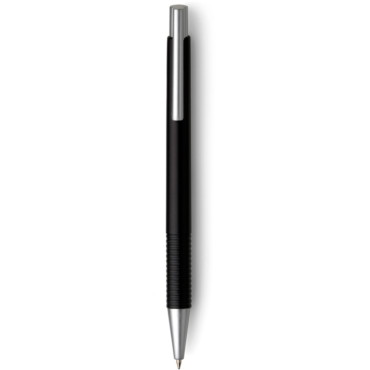 Plastic ballpen with metallic effect...