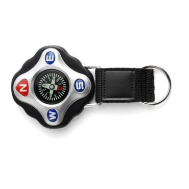 Kompass Tour aus Kunststoff mit Schlüsselkette