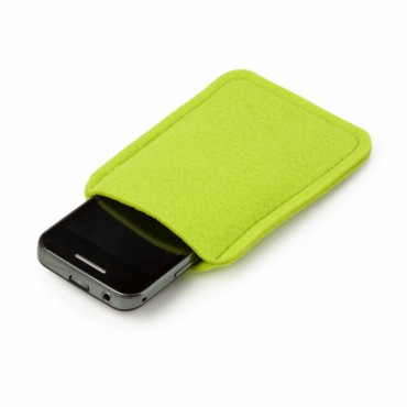 Felt mobile phone pouch