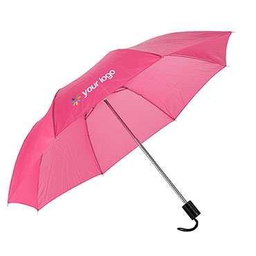 Folding polyester umbrella