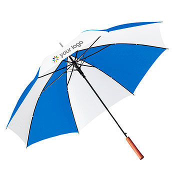 Umbrella with eight multi-colour 190t...