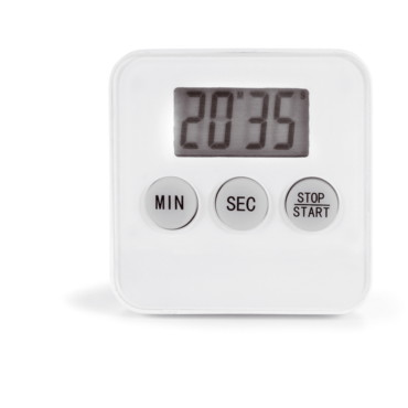 Cooking timer with magnetic back