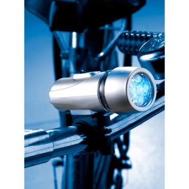 Set of two bicycle lights with the fr...