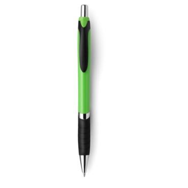Bolígrafo de plástico con antidesliza...