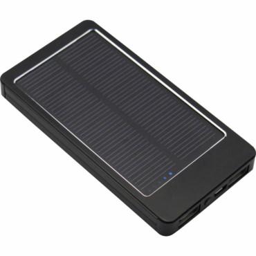 Cargador solar de aluminio