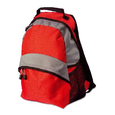 Rucksack in a nylon material 600D