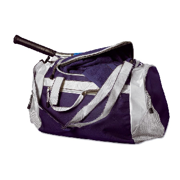 Sports bag with various pockets