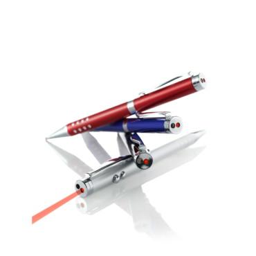 Bolígrafo de metal con puntero laser ...